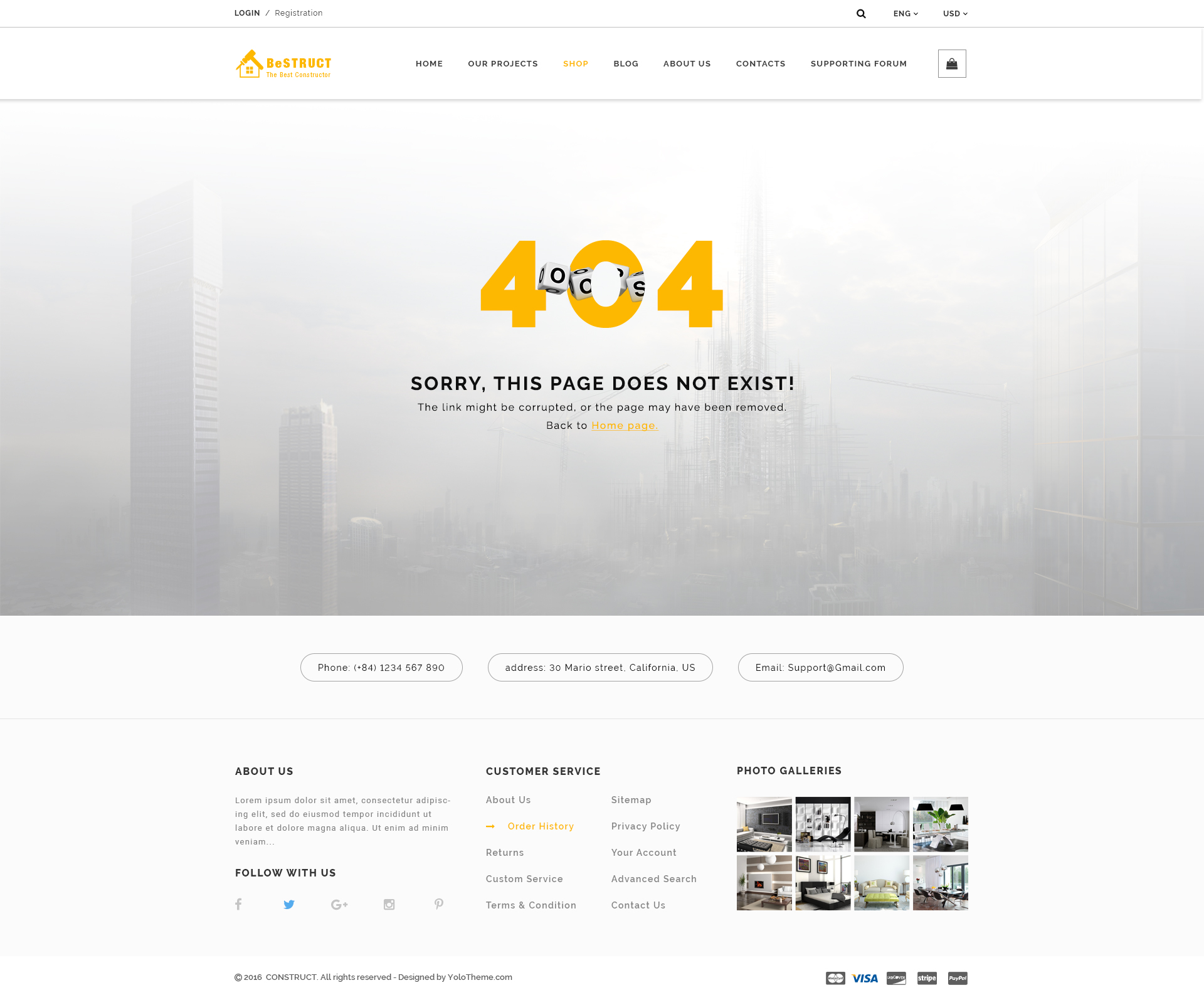 BeStruct - Multiconcept Construction PSD Template by YoloPSD ...