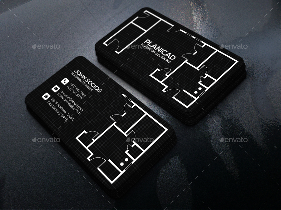 architecture business card - Architect Business Card