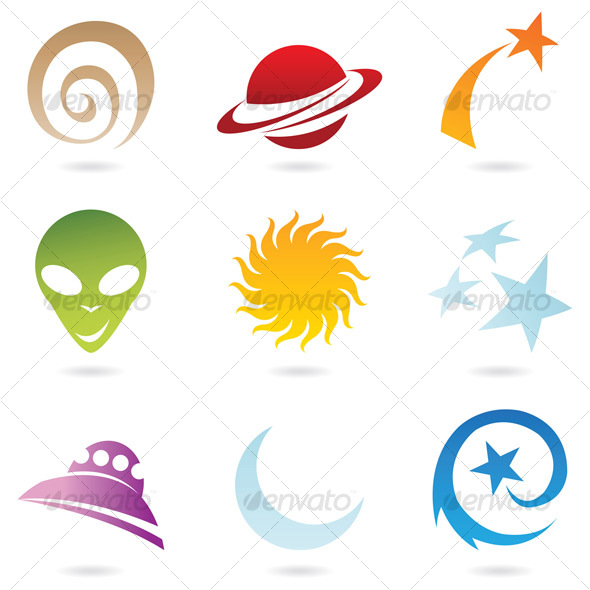 fun space icons - Miscellaneous Characters