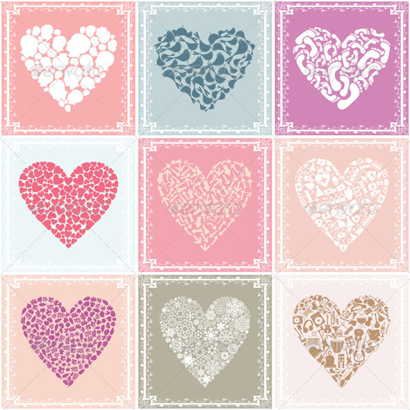 Collection heart - Valentines Seasons/Holidays