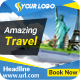 Business Holiday Travel Banner - GraphicRiver Item for Sale