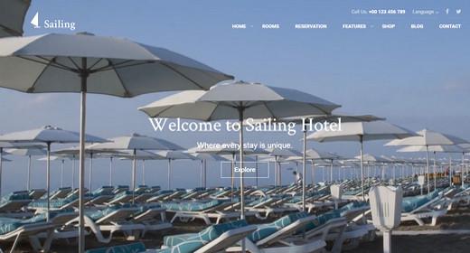 Best Theme WordPress Hotel