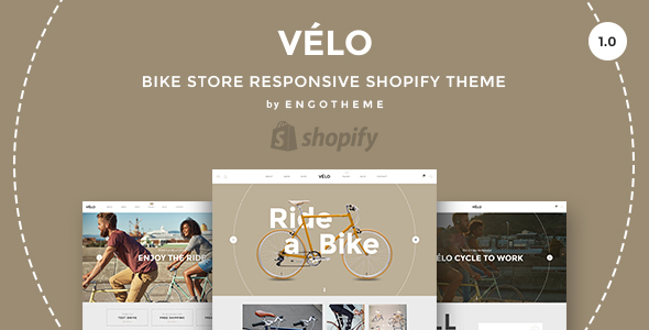 Image of Velo - Bike Store Responsive Shopify Theme