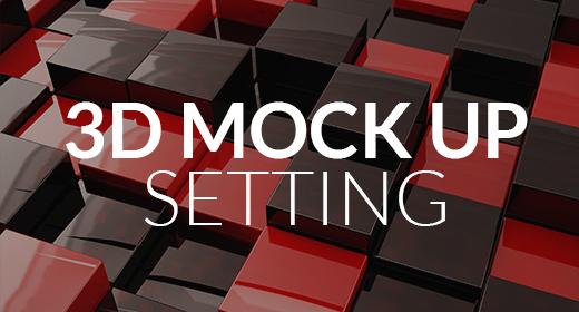 3D Mock Up Set