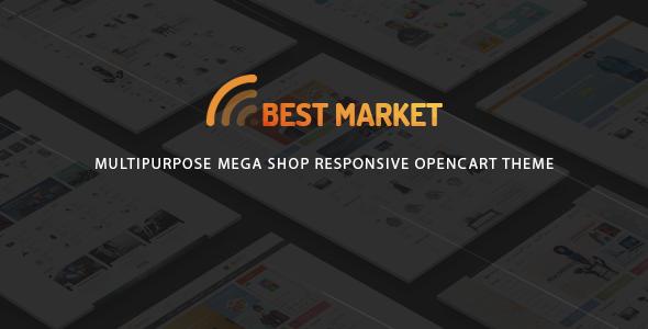 BestMarket - Multipurpose Mega Shop Responsive Opencart Theme - Technology OpenCart