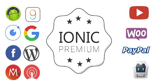 Ionic Premium Starter and Themes