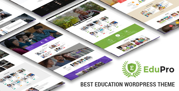 EduPro – Professional WordPress Education Theme