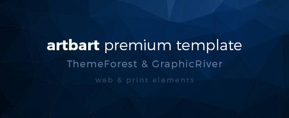 Artbart premium template psd