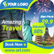 Multipurpose Travel and Vacation Banner - GraphicRiver Item for Sale