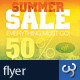 Summer Sale Store & Shop Commerce Advert Flyers - GraphicRiver Item for Sale
