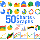 50 Animated Charts & Graphs - VideoHive Item for Sale