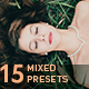 15 Mixed Lightroom Presets - GraphicRiver Item for Sale