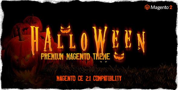 Halloween – Responsive Magento 2 Theme