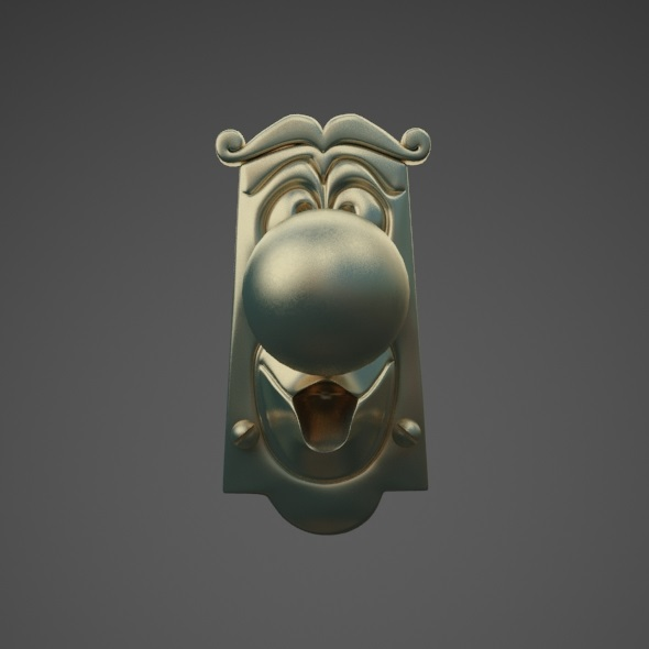 Door Knob - 3DOcean Item for Sale
