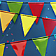Festival Flags Background - VideoHive Item for Sale