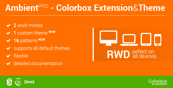 Ambient Blur Background for ColorBox + Theme - CodeCanyon Item for Sale