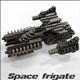 Space frigate (voxel model) - 3DOcean Item for Sale