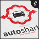 Auto Sharing Logo - GraphicRiver Item for Sale