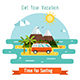 Surfing Time Poster - GraphicRiver Item for Sale