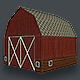 Basic Barn Low Poly - 3DOcean Item for Sale