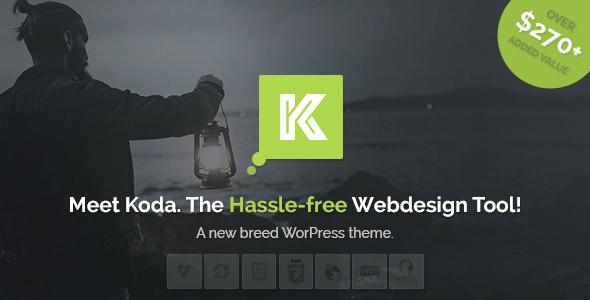 Koda – Advanced and Creative Multi-Purpose WordPress Theme