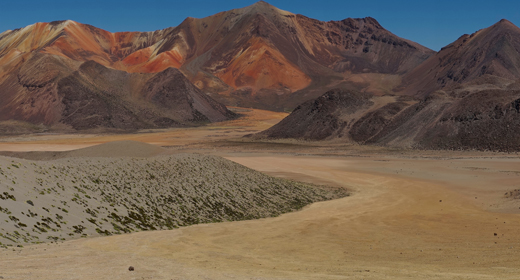 The Altiplano of northern Chile