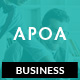Apoa - Business WordPress Theme Nulled