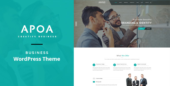 Apoa - Business WordPress Theme - Business Corporate