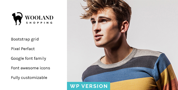 Wooland – Responsive WooCommerce WordPress Theme