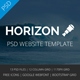 Horizon - Multipurpose PSD Template - ThemeForest Item for Sale