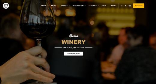 Best WordPress Theme Restaurant