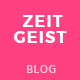 Zeitgeist - Personal Blog PSD Template - ThemeForest Item for Sale