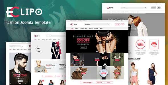 Image of Vina Eclipo - Fashion VirtueMart Joomla Template