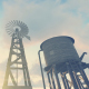 Windmill - Water Tower - Farm - VideoHive Item for Sale