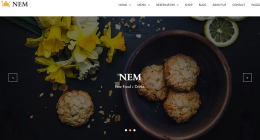 Awesome WordPress Themes Restaurant