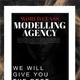 Fashion Modelling Agency Flyer