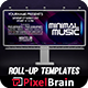 Minmal Music Billboard Templates Vol. 1 - GraphicRiver Item for Sale