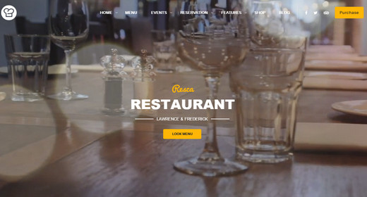 Amazing WordPress Themes Restaurant 2016