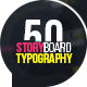 Storyboard Typography - VideoHive Item for Sale