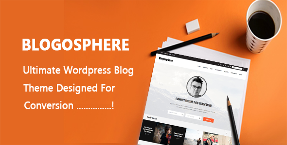 Blogosphere – Multi Purpose WordPress Blog Theme