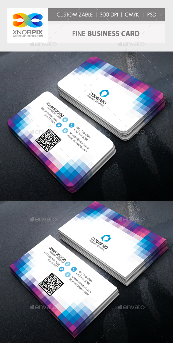 Fine Business Card - Creative Business Cards