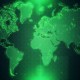 4K Green Map Background - VideoHive Item for Sale