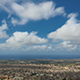 City Coast With Clouds - Zoom - VideoHive Item for Sale