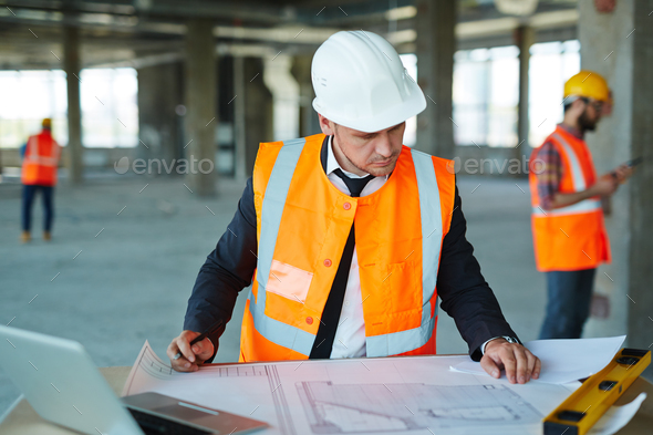 Constructor at work - Stock Photo - Images