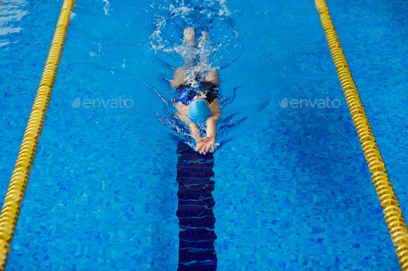 Swim workout - Stock Photo - Images