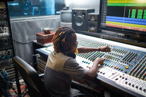 Sound mixing - Stock Photo - Images