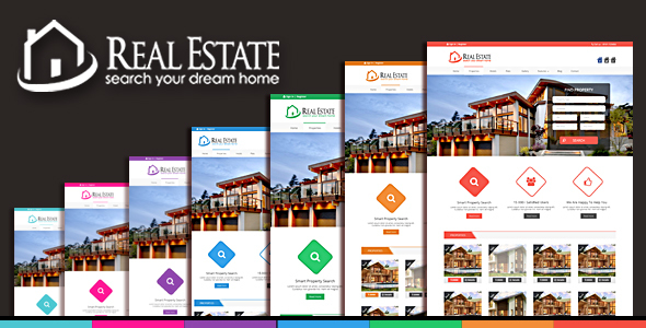 Real Estate & Blog html