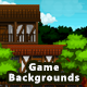 5 Village Pixel Game Backgrounds - Parallax and Stackable - GraphicRiver Item for Sale
