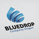Blue Drop Logo - GraphicRiver Item for Sale