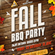 Fall Barbecue BBQ Party Flyer - GraphicRiver Item for Sale